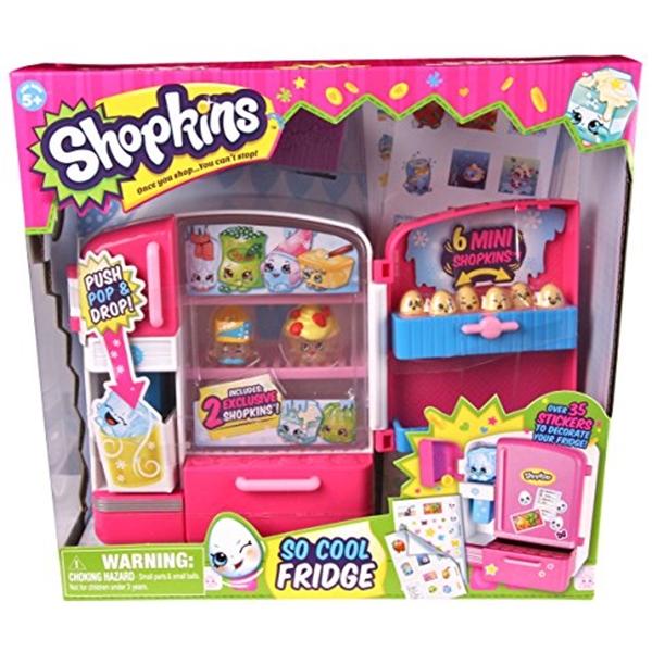 ショップキンズ おもちゃ 人形 ドール フィギュア Shopkins So Cool Fridge