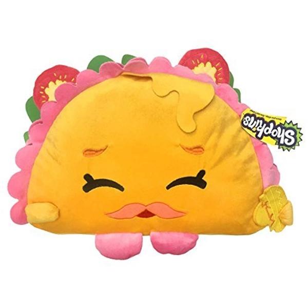 ショップキンズ ぬいぐるみ クッション タコス Shopkins Taco Terry Soft Pillowtime Snuggle Plush Pal