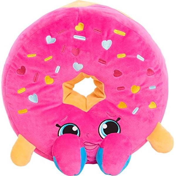 ショップキンズ ぬいぐるみ クッション ドーナツ Shopkins Jumbo D'lish Donut Plush