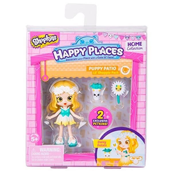 ショップキンズ おもちゃ 人形 ドール フィギュア Happy Places Shopkins Season 2 Doll Single Pack Daisy Petals