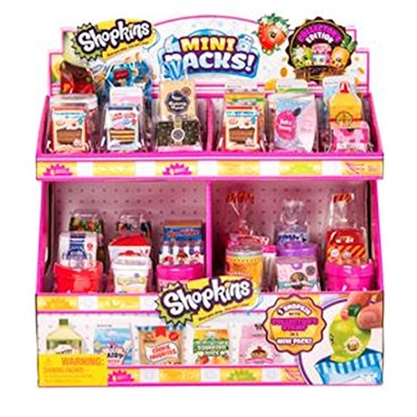 ショップキンズ おもちゃ 人形 ドール フィギュア Shopkins Small Mart Season 10 Mini Pack, Case of 36