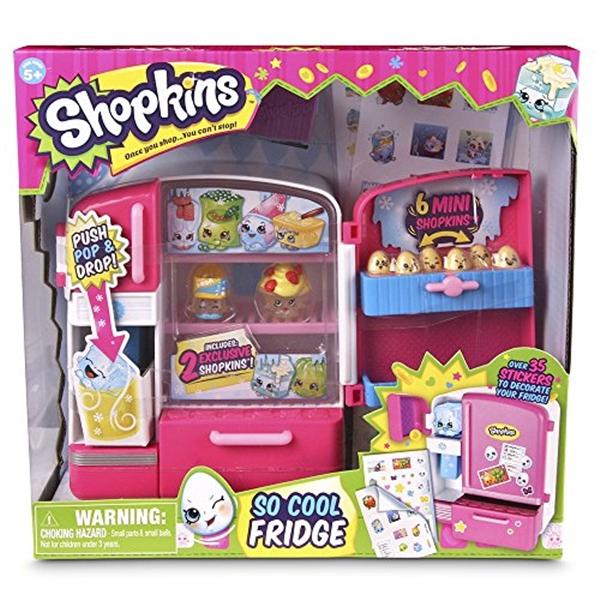 ショップキンズ おもちゃ 人形 ドール フィギュア Shopkins So Cool Fridge Playset