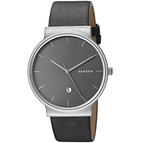 スカーゲン Skagen 腕時計 Skagen Men's SKW6320 Ancher Titanium Analog Quartz, Grey