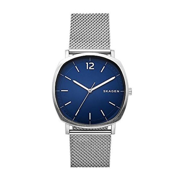 スカーゲン Skagen 腕時計 Skagen Men's 'Rungsted' Quartz Stainless Steel Casual Watch, Color:Silver-Toned (Model: SKW6380)