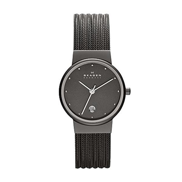 スカーゲン Skagen 腕時計 Skagen Women's 355SMM1 Ancher Grey Mesh Watch