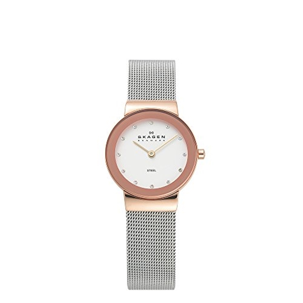 スカーゲン Skagen 腕時計 Skagen Women's 358SRSC Freja Stainless Steel Mesh Watch
