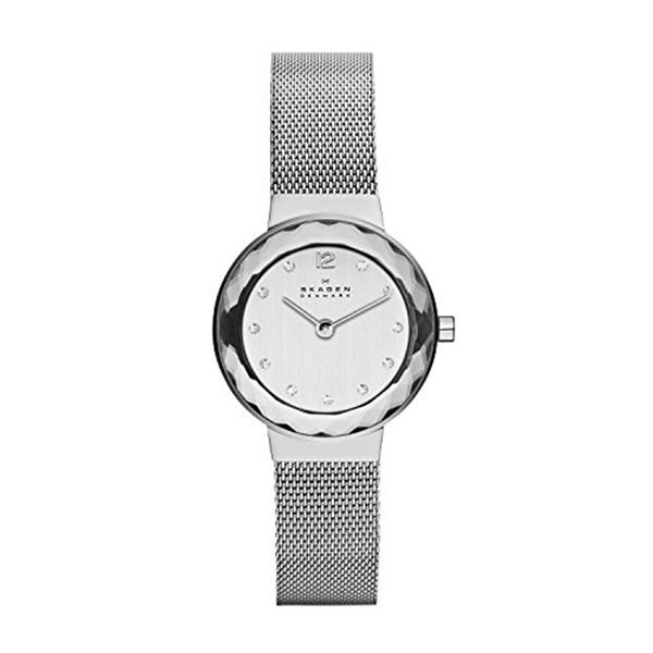 スカーゲン Skagen 腕時計 Skagen Women's 456SSS Leonora Stainless Steel Mesh Watch