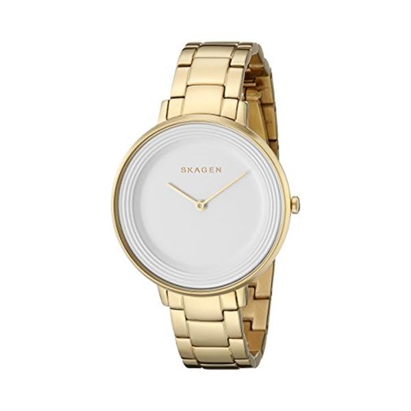 スカーゲン Skagen 腕時計 Skagen Women's SKW2330 Ditte Gold Link Watch