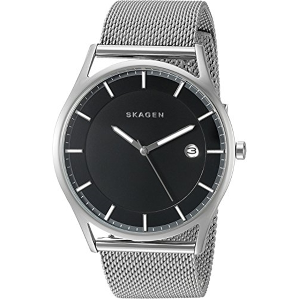 スカーゲン Skagen 腕時計 Skagen Men's SKW6284 Holst Stainless Steel Mesh Watch
