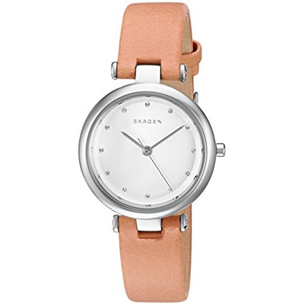 スカーゲン Skagen 腕時計 Skagen Women's SKW2455 Tanja Light Brown Leather Watch