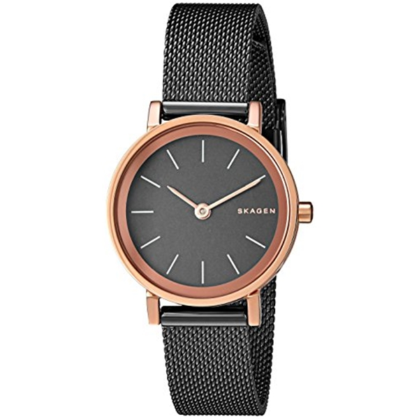 スカーゲン Skagen 腕時計 Skagen Women's SKW2492 Hald Light Brown Mesh Watch