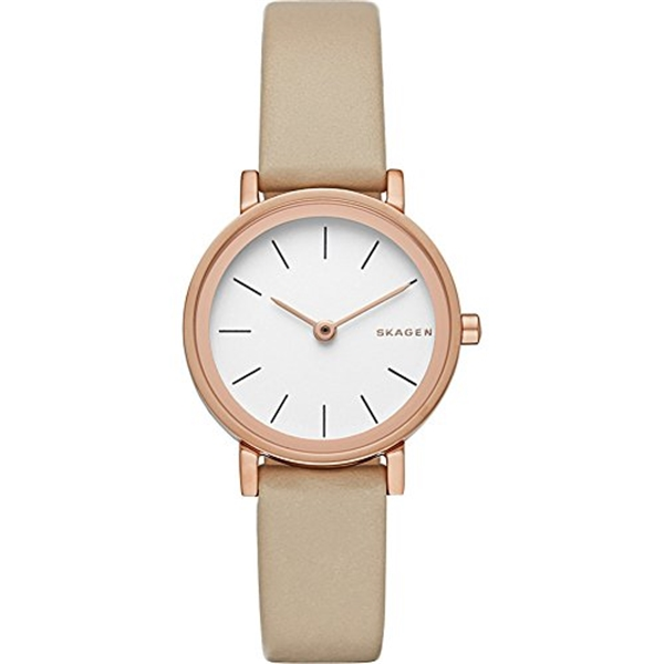 スカーゲン Skagen 腕時計 Skagen Women's SKW2494 Hald Leather Watch