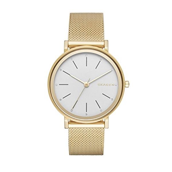 スカーゲン Skagen 腕時計 Skagen Women's SKW2509 Hald Gold Mesh Watch