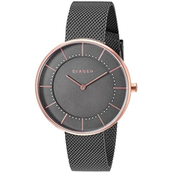 スカーゲン Skagen 腕時計 Skagen Women's SKW2584 Gitte Grey Mesh Watch