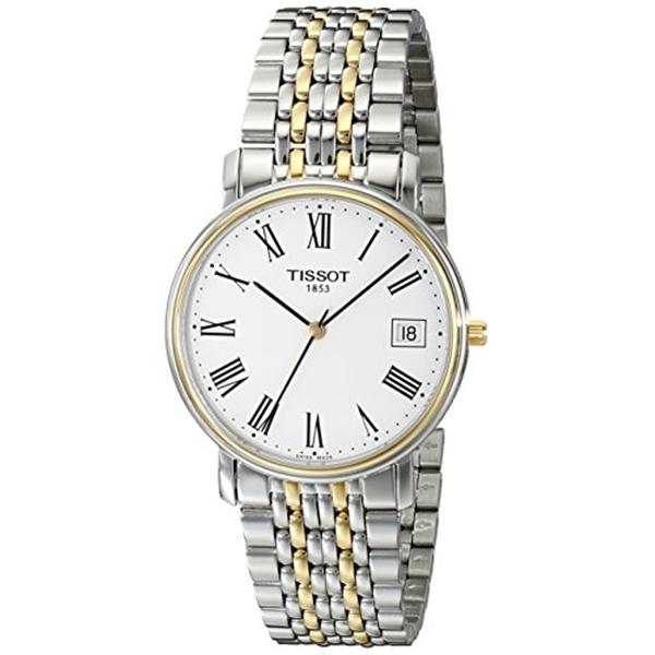 ティソ Tissot 腕時計 メンズ 時計 Tissot Men's T52248113 T-Classic Desire Two-Tone Watch