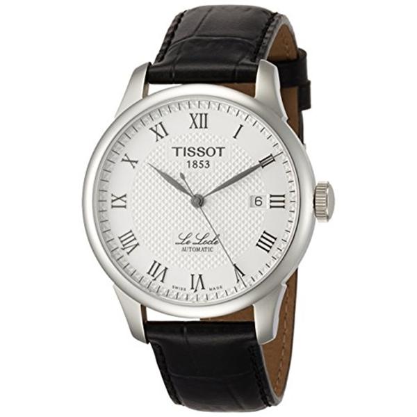 <title>ティソ Tissot 腕時計 メンズ 時計 Men's TIST41142333 Le Locle Analog Display Swiss Automatic Black Watch メーカー再生品</title>
