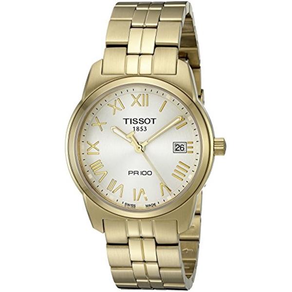 ティソ Tissot 腕時計 メンズ 時計 Tissot Men's T0494103303300 PR100 Silver Dial Watch