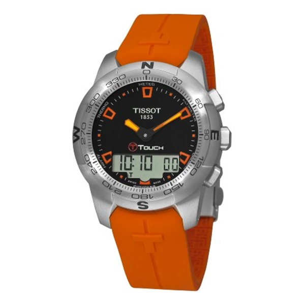 ティソ Tissot 腕時計 メンズ 時計 Tissot Men's T0474201705101 T-Touch Multi-Function Watch