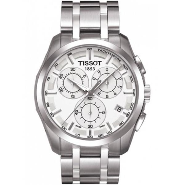 ティソ 安値 Tissot 腕時計 メンズ 時計 Men's Silver バーゲンセール Dial Couturier Watch TIST0356171103100