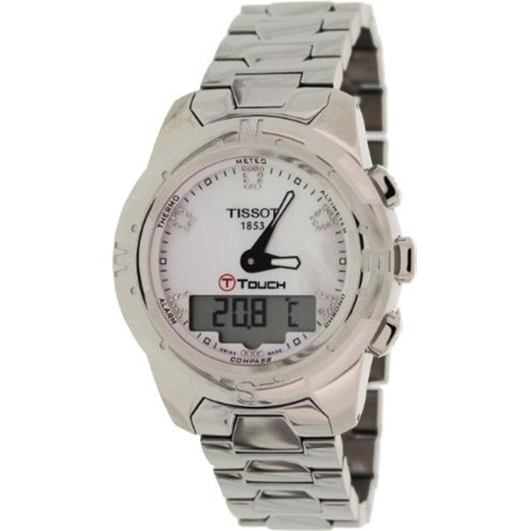 ティソ Tissot 腕時計 メンズ 時計 Tissot T-Touch II Analog Digital Mens Watch T0472204411600