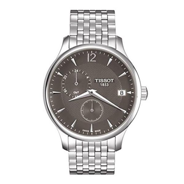 ティソ Tissot 腕時計 メンズ 時計 Tissot Tradition GMT Men's watch #T063.639.11.067.00