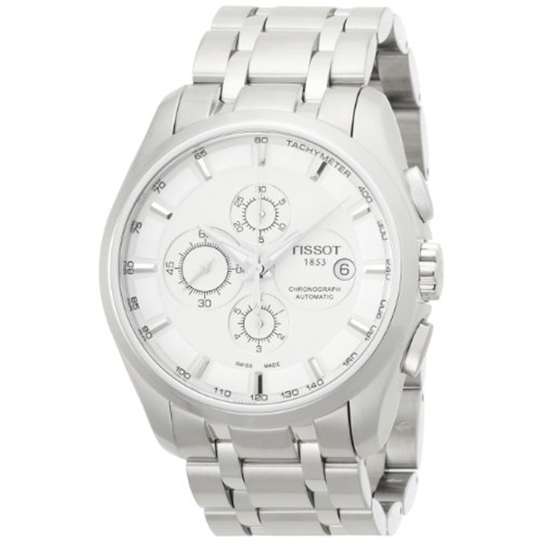 ティソ Tissot 腕時計 メンズ 時計 Tissot Mens Automatic Couturier Watch T035.627.11.031.00
