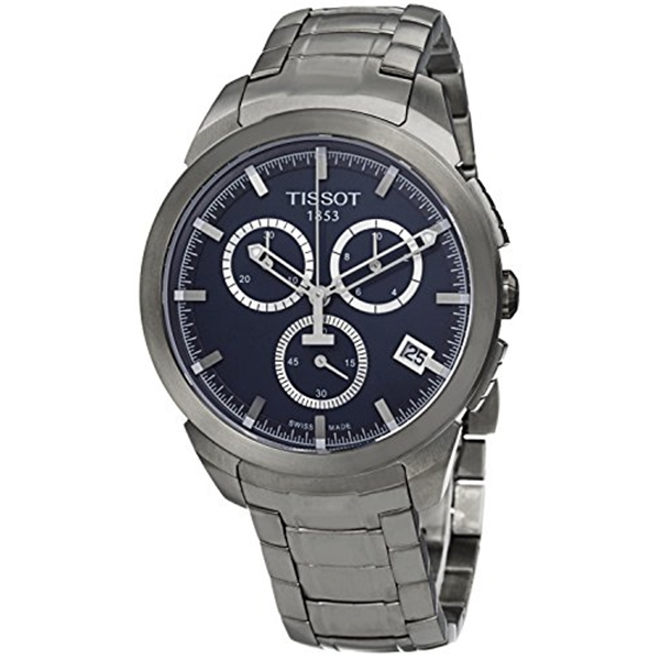 ティソ Tissot 腕時計 メンズ 時計 Tissot Men's T0694174404100 T-Sport Analog Display Quartz Silver Watch