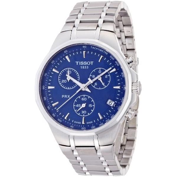 ティソ Tissot 腕時計 メンズ 時計 Tissot Men's T0774171104100 Silver/Blue Stainless steel Watch