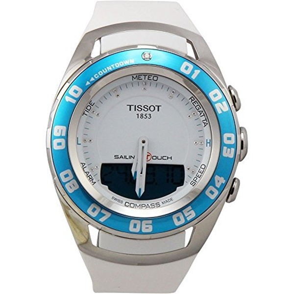 ティソ Tissot 腕時計 メンズ 時計 Tissot T0564201701600 Sailing Touch Unisex Watch