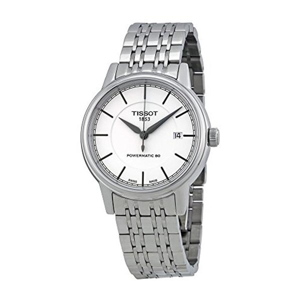 ティソ Tissot 腕時計 メンズ 時計 Men's 別倉庫からの配送 T0854071101100 T Watch Display Automatic Analog Silver Powermatic 大決算セール Swiss Classic