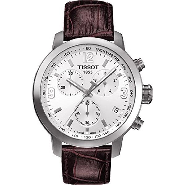 ティソ Tissot 腕時計 メンズ 時計 Tissot PRC 200 Quartz Chronograph T055.417.16.017.01