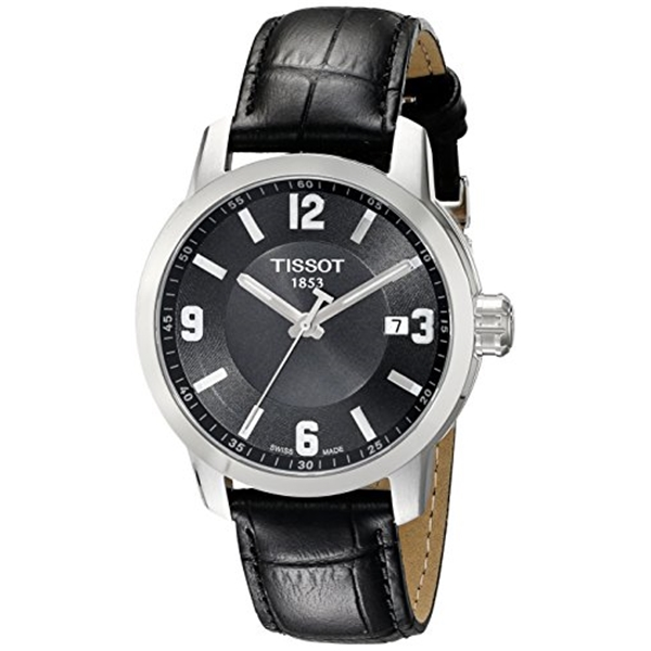 ティソ Tissot 腕時計 メンズ 時計 Tissot Men's T0554101605700 PRC 200 Analog Display Quartz Black Watch