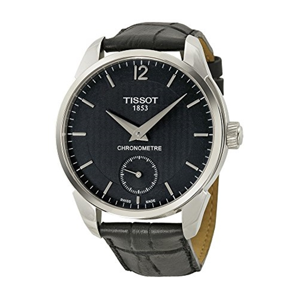ティソ Tissot 腕時計 メンズ 時計 Tissot Men's T0704061605700 T-complication Analog Display Mechanical Hand Wind Black Watch