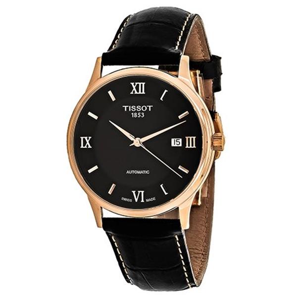 ティソ Tissot 腕時計 メンズ 時計 Tissot Rose Dream Men's Automatic 18 K Gold T9144077605800