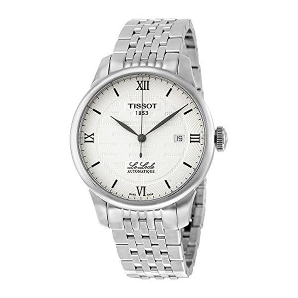 ティソ Tissot 腕時計 メンズ 時計 Tissot Men's T41183350 Le Locle Analog Display Swiss Automatic Silver Watch