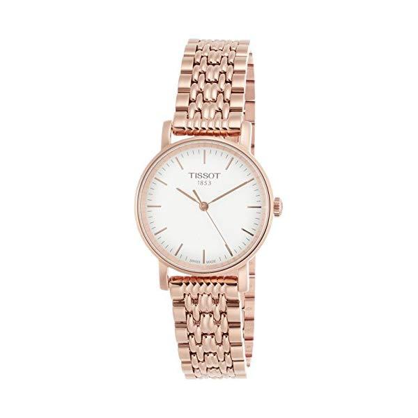 ティソ 腕時計 TISSOT T1092103303100 ウォッチ レディース 女性用 Tissot Silver Dial Rose Gold Tone Stainless Steel Ladies Watch T1092103303100