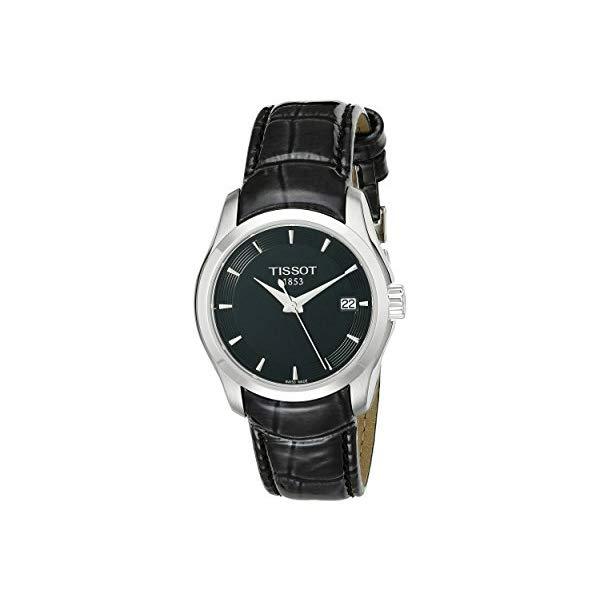ティソ 腕時計 TISSOT T035.210.16.051.00 ウォッチ レディース 女性用 Tissot Women's T035.210.16.051.00 Black Dial Couturier Watch
