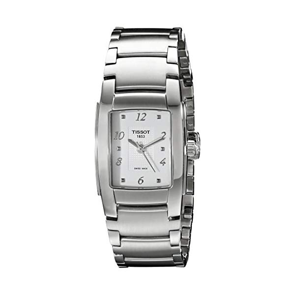 ティソ 腕時計 TISSOT TIST0733101101701 ウォッチ レディース 女性用 Tissot Women's TIST0733101101701 T10 Analog Display Swiss Quartz Silver Watch