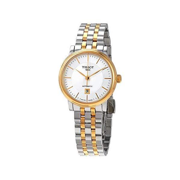 ティソ 腕時計 TISSOT T1222072203100 ウォッチ レディース 女性用 Tissot Carson Two Tone Ladies Automatic Watch T122.207.22.031.00