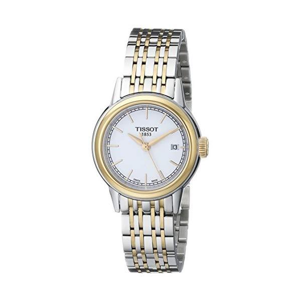 ティソ 腕時計 TISSOT T0852102201100 ウォッチ レディース 女性用 Tissot Women's T0852102201100 Carson Analog Display Swiss Quartz Two Tone Watch