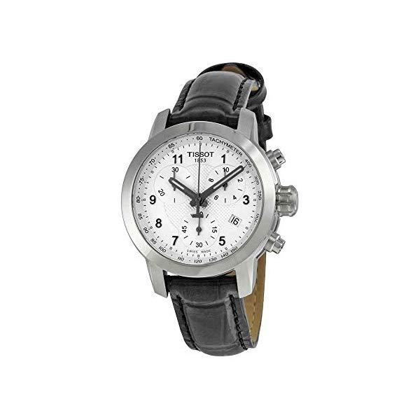 ティソ 腕時計 TISSOT T0552171603202 ウォッチ 替えバンド 替えベルト ストラップ レディース 女性用 Tissot T055.217.16.032.02 Silver Dial Leather Strap Ladies Watch