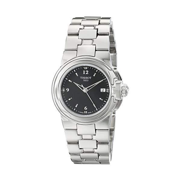 ティソ 腕時計 TISSOT T0802101105700 ウォッチ レディース 女性用 Tissot Women's T080.210.11.057.00 'T Sport' Black Dial Stainless Steel Quartz Watch T080.210.11.057.00