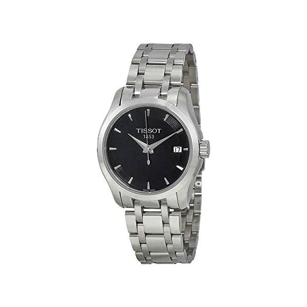 ティソ 腕時計 TISSOT T0352101105100 ウォッチ レディース 女性用 Tissot T-Trend Couturier Black Dial Women's watch #T035.210.11.051.00