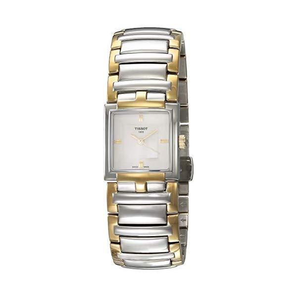 ティソ 腕時計 TISSOT T051.310.22.031.00 ウォッチ レディース 女性用 Tissot Women's T051.310.22.031.00 White Dial T Evocation Watch