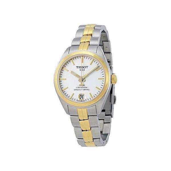 ティソ 腕時計 TISSOT T101.208.22.031.00 ウォッチ レディース 女性用 Tissot PR 100 Automatic Silver Dial Ladies Watch T101.208.22.031.00