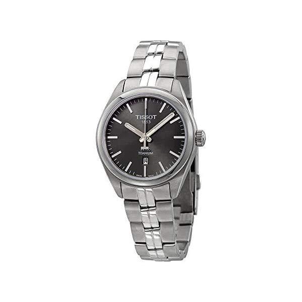ティソ 腕時計 TISSOT T1012104406100 ウォッチ レディース 女性用 Tissot T101.210.44.061.00 Women's Watch PR 100 Silver 33mm Titanium