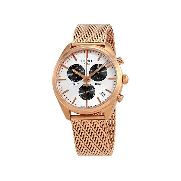ティソ 腕時計 TISSOT T101.417.33.031.01 ウォッチ レディース 女性用 Tissot Womens PR 100 Chronograph - T1014173303101