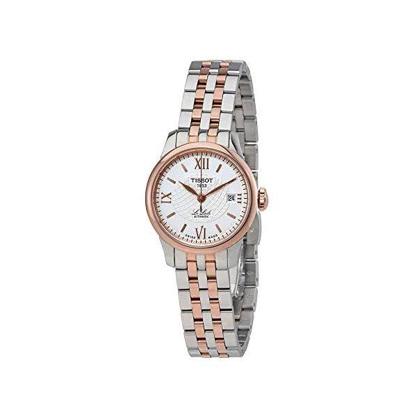 ティソ 腕時計 TISSOT T41218333 ウォッチ レディース 女性用 Tissot Le Locle Silver Dial Stainless Steel Ladies Watch T41218333