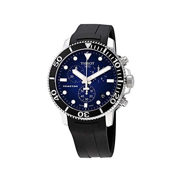 ティソ 腕時計 TISSOT T1204171704100 ウォッチ メンズ 男性用 Tissot T120.417.17.041.00 Seastar 1000 Chronograph Men's Watch