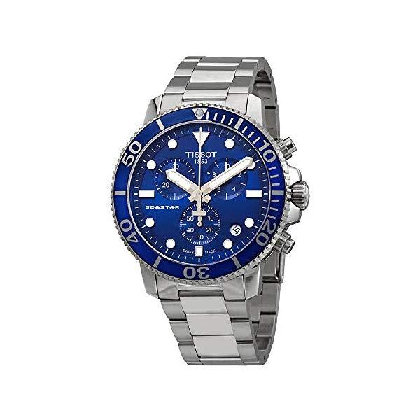 ティソ 腕時計 TISSOT T1204171104100 ウォッチ メンズ 男性用 Tissot T120.417.11.041.00 Seastar 1000 Chronograph Men's Watch